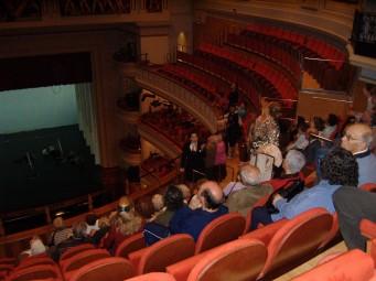 El Teatro, desde el segundoanfiteatro