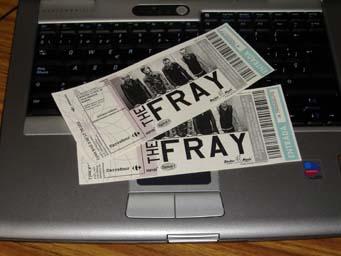 Entradas para el concierto de TheFray