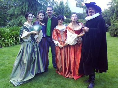 Las hijas del embajador de Almagro