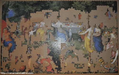 La fiesta de los dioses de Van Balen (157 x 107 cm), el 04/06/08.