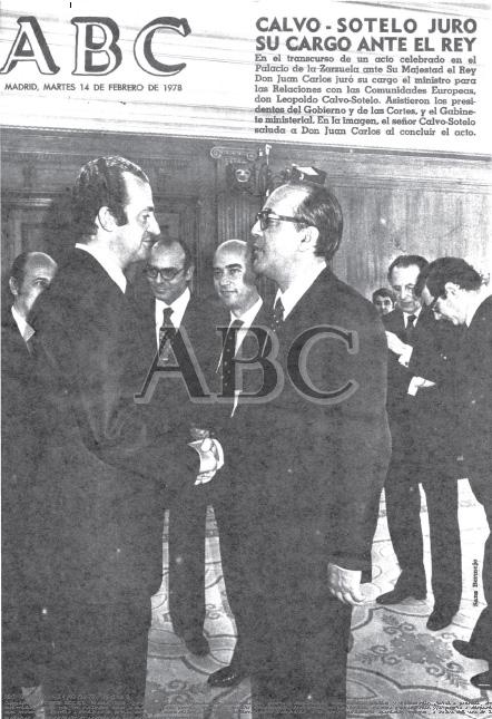 Portada de ABC del 14/02/1978