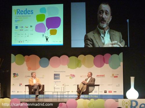 Arsuaga y Pérez-Reverte en iRedes