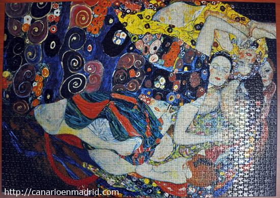 La Virgen, Gustav Klimt