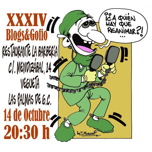 XXXIV Blogs&Gofio by JMorgan
