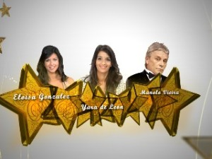 Presentadores Campanadas 2012 TvCanaria