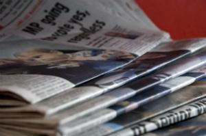 Newspaper Pile / Morguefile