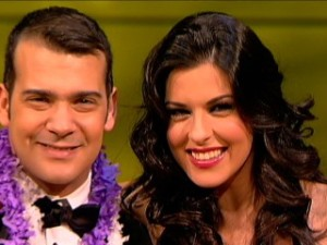 Daniel Calero y Eloísa González, presentadores de Televisión Canaria