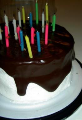 Tarta de cumpleaños / Morguefile
