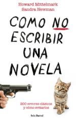 Portada de Cómo no escribir una novela